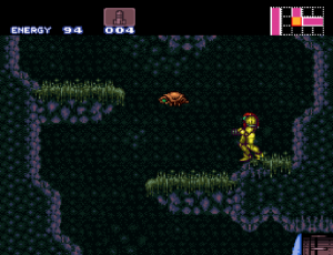 Super Metroid gameplay