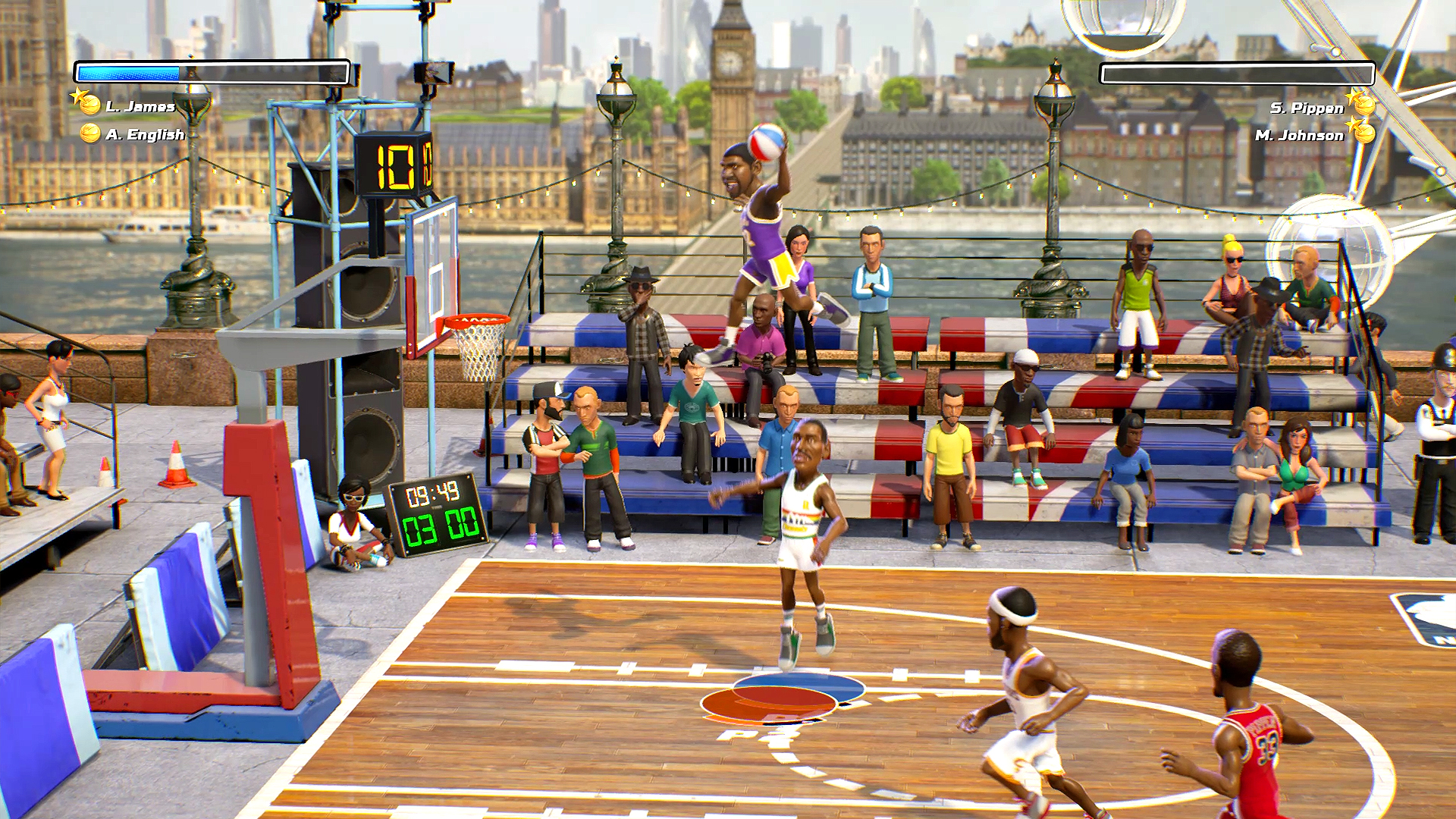 NBA Playgrounds Londen