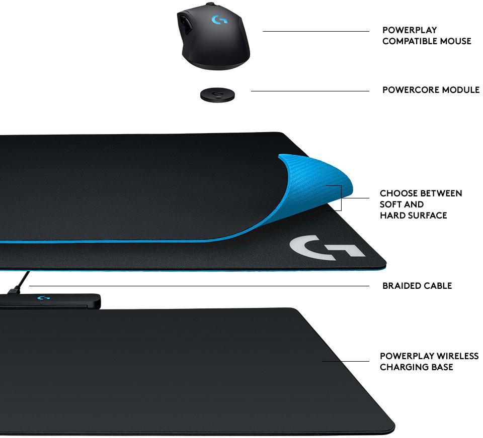 Innovatieve Logitech G PowerPlay geïntroduceerd NWTV
