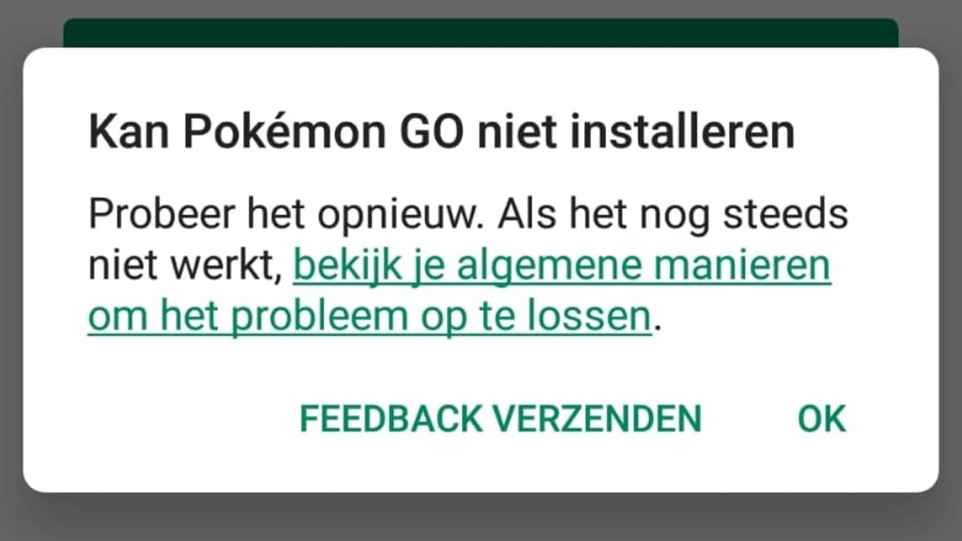 Verschillende Pokémon GO-update problemen voor Android - NWTV