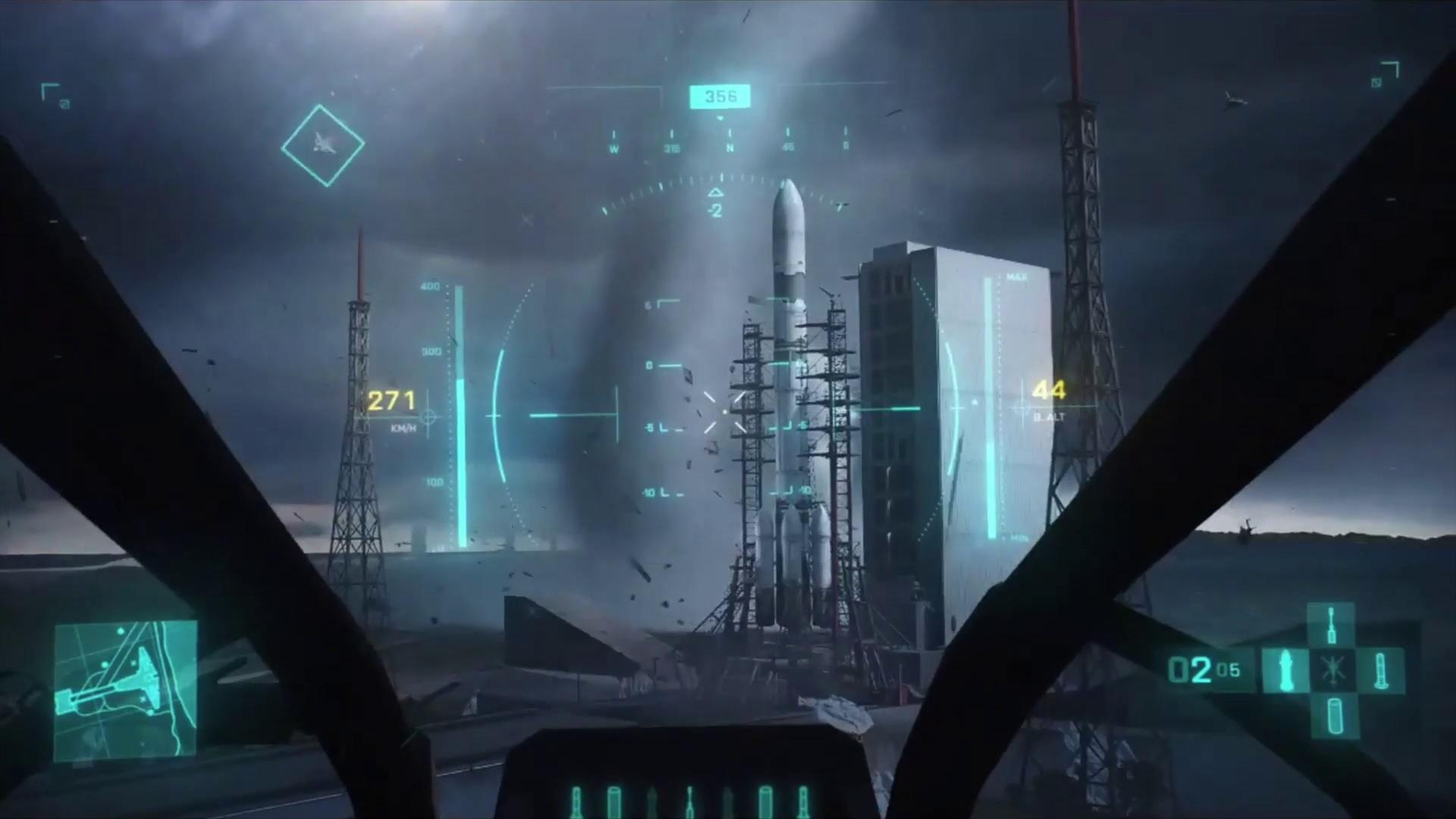 Rekaman baru dari Battlefield