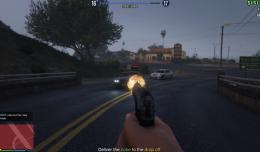GTA V - Online auto schiet