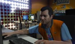 GTA V - Michael hackt